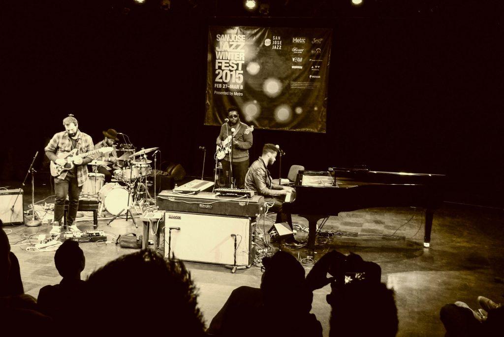 Kris Bowers Trio; photo by MK Wagner