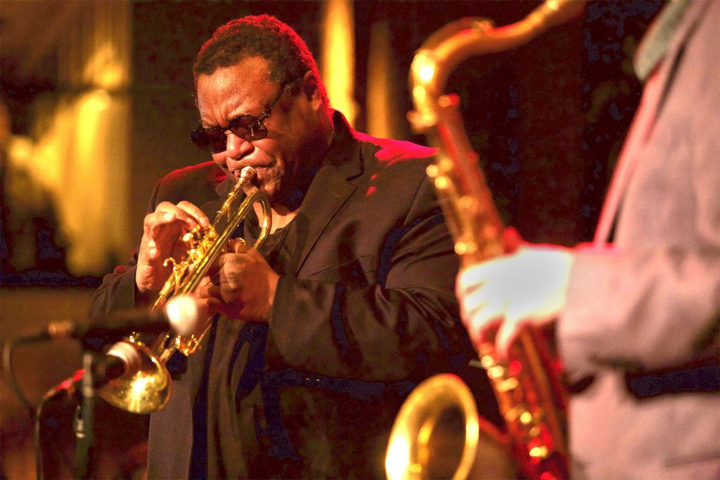 Wallace Roney; photo by Andy Nozaka