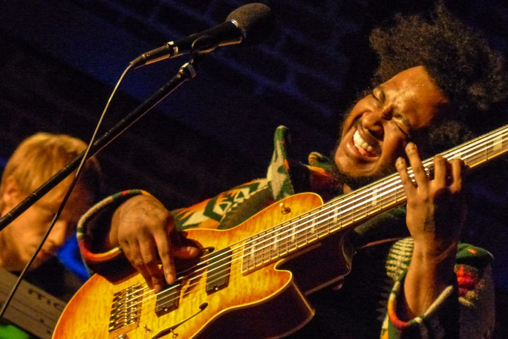 An early appearance by Thundercat in a 150-seat theater. Photo by MK Wagner