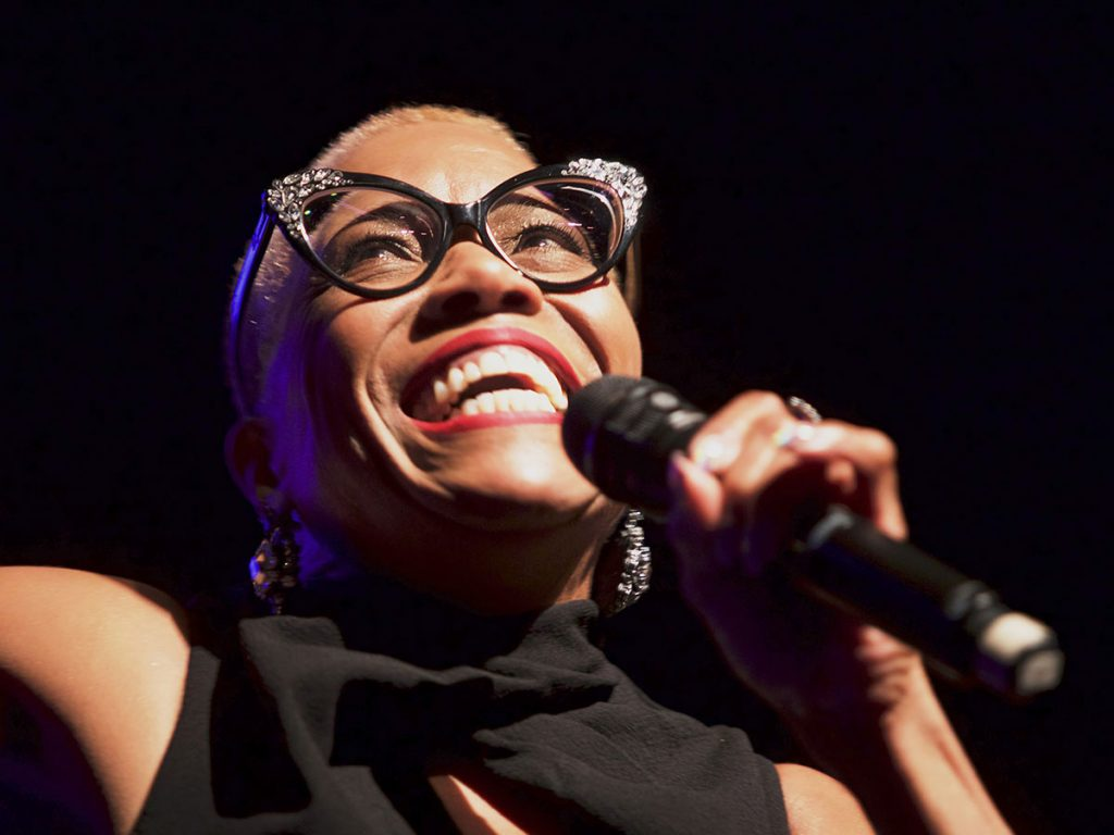 Dee Dee Bridgewater; photo by Andy Nozaka