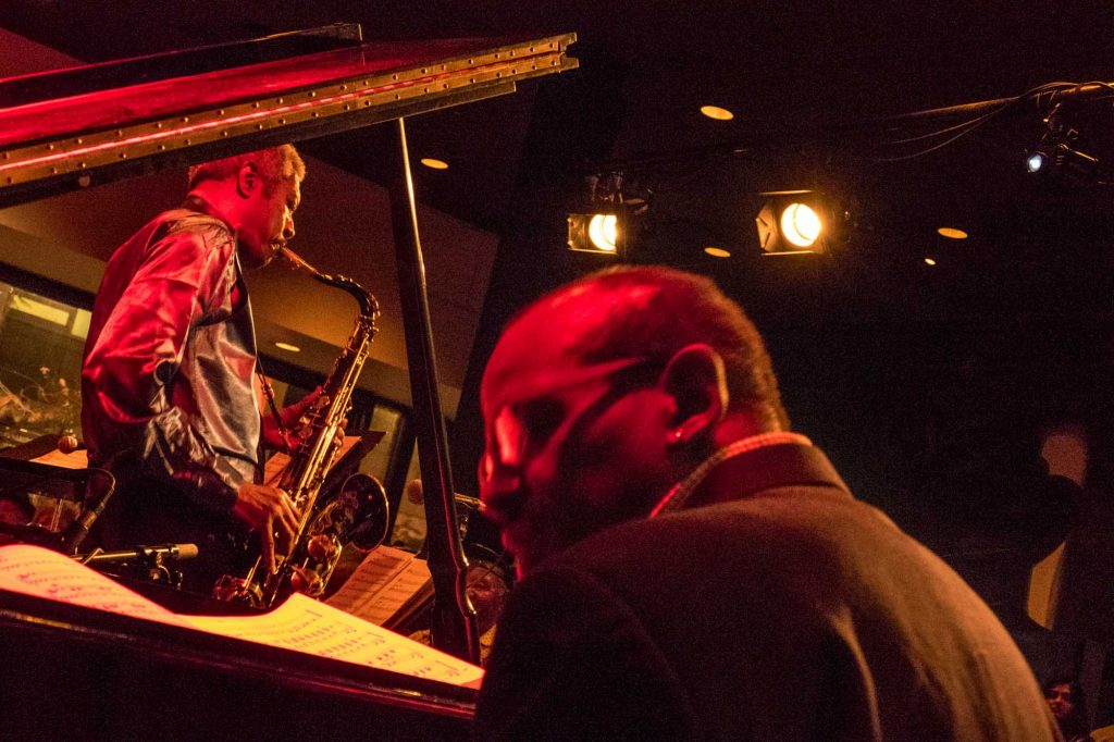 The Cookers at Cafe Stritch; photo by Walter Wagner