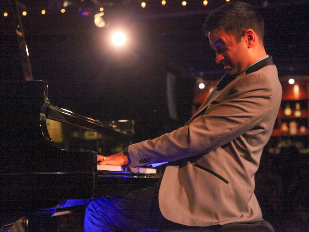 Vijay Iyer; photo by Walter Wagner