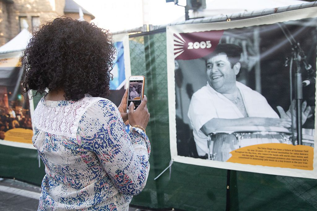 Fest-goers took a trip down memory lane with this year's History Project celebrating 30 years of Summer Fest. Photo by Robert Birnbach