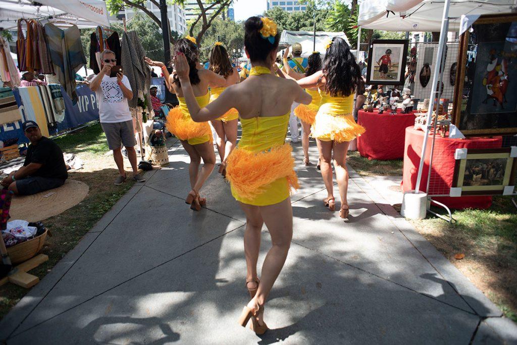 Bloco Do Sol led this year's Samba Parade. Photo by Daniel Garcia