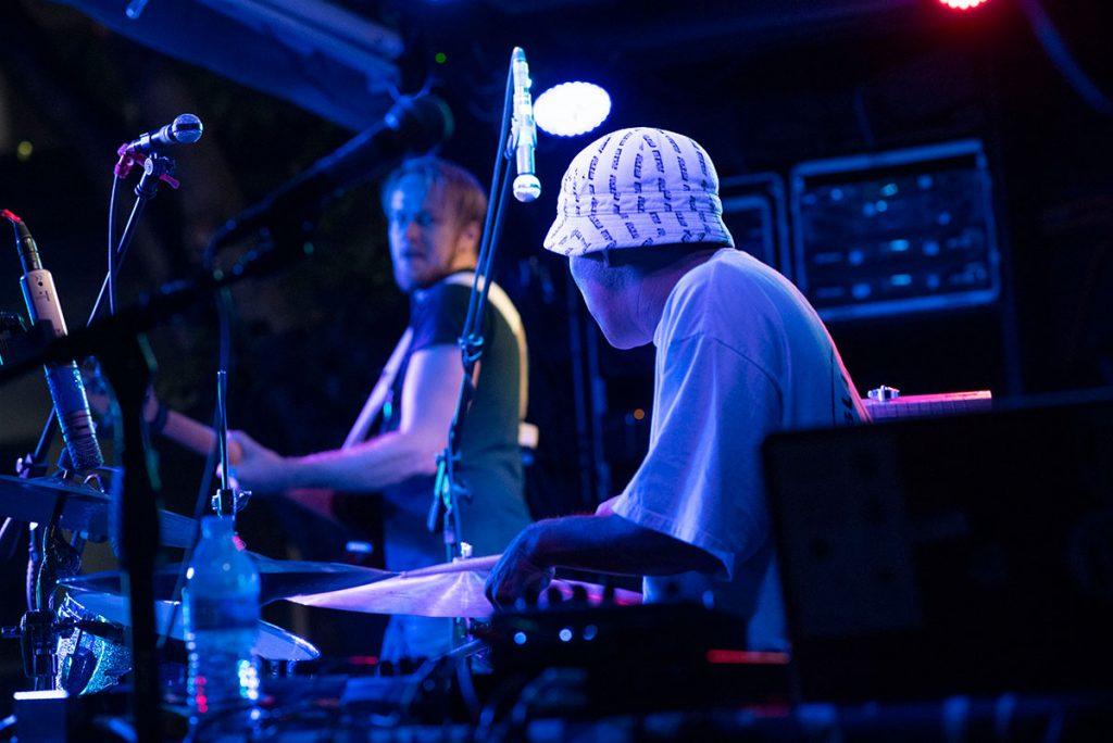 Jazz Beyond artist Shigeto lights up the night. Photo by Daniel Garcia